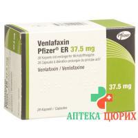 Венлафаксин Пфайзер ER 37.5 мг 28 ретард капсул