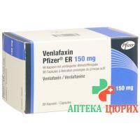 Венлафаксин Пфайзер ER 150 мг 98 ретард капсул