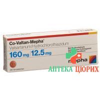 Ко-Валтан Мефа 160/12,5 мг 28 таблеток покрытых оболочкой