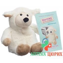Beddy Bear Warme-Stofftier Mini Schaf Beige