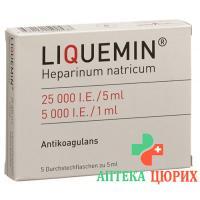 Ликвемин 25000 E/5 мл 5 флакон 5 мл раствор для инъекций