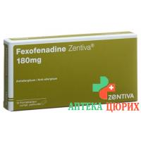 Фексофенадин Центива 180 мг 10 таблеток покрытых оболочкой