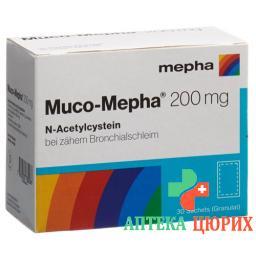 Муко-Мефа гранулы 200 мг 30 пакетиков