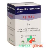 Пиперациллин-Тазобактам Лабатек cухое вещество 4,5 г 1 флакон