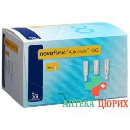 Novofine Autocover Injektionsnadel 8мм 30г 100 штук