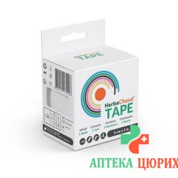 Herbachaud Tape 5смx5m Weiss