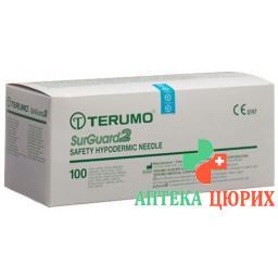 Terumo SurGuard2 Sicherheits-Einmalkanulen 25г 0.5x16мм Orange 100 штук