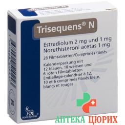 Трисеквенс Н 28 таблеток покрытых оболочкой