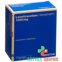 Леветирацетам Хелвефарм 1000 мг 100 таблеток покрытых оболочкой