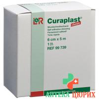 Curaplast повязка для ран Classic 6смx5m рулон