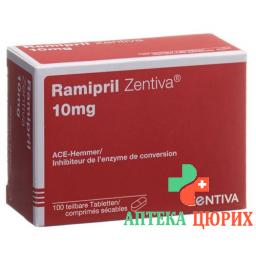 Рамиприл Зентива 10 мг 100 таблеток