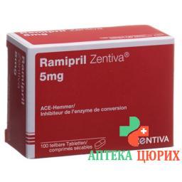 Рамиприл Зентива 5 мг 100 таблеток