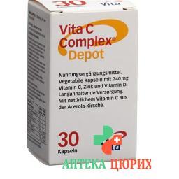 Vita C Complex Depot Kapseln 30 штук