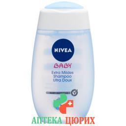 Nivea Baby Extra Mild шампунь 200мл