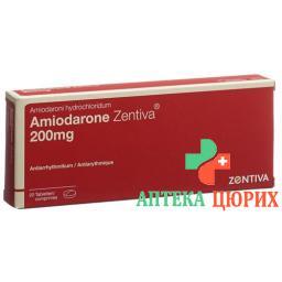 Амиодарон Зентива 200 мг 20 таблеток