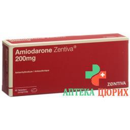 Амиодарон Зентива 200 мг 60 таблеток