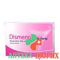 Дисменол Доло форте 400 мг 10 таблеток покрытых оболочкой