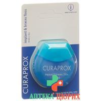 Curaprox DF 845 Implant & Braces Floss 50 штук