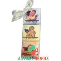 Nesti Dante Seife Amorino Kit Collection 3x 150г
