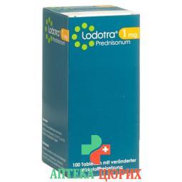 Лодотра 1 мг 100 ретард таблеток