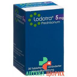 Лодотра 5 мг 30 ретард таблеток
