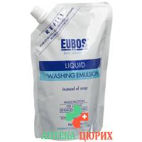 Eubos Seife жидкость Unparfumiert Blau наполнитель 400мл