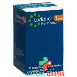 Лодотра 1 мг 30 ретард таблеток
