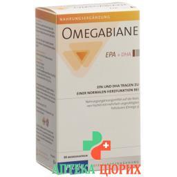 Omegabiane EPA + DHA в капсулах 80 штук
