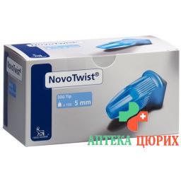 Novo Twist Injektionsnadeln 5мм 32г 100 штук