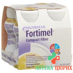 FORTIMEL COMPACT FIBER VANILLE