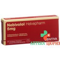 Небиволол Хелвефарм 5 мг 28 таблеток