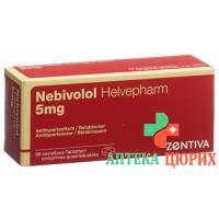 Небиволол Хелвефарм 5 мг 98 таблеток