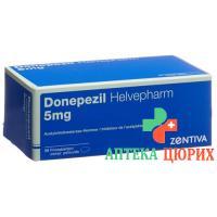 Донепезил Хельвефарм 5 мг 98 таблеток покрытых оболочкой