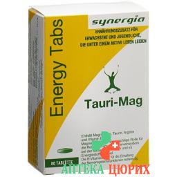 Tauri Mag Energy Tabs 80 штук