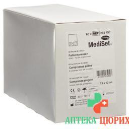 MediSet Faltkompressen Typ 24 8-fach 7.5x10см 8-fach 2 штуки