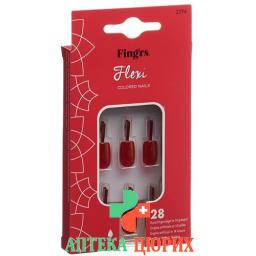 FINGRS FLEXI NAILS CLASSIC RED