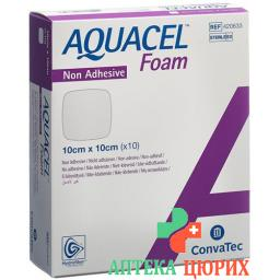 Aquacel Foam 10x10см не адгезивные 10 штук