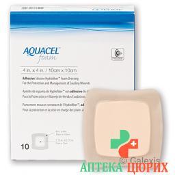 Aquacel Foam 17.5x17.5см Adhesive 10 штук
