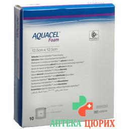Aquacel Foam 12.5x12.5см Adhesive 10 штук
