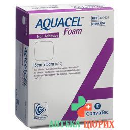 Aquacel Foam 5x5см не адгезивные 10 штук