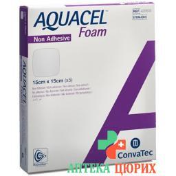 Aquacel Foam 15x15см не адгезивные 5 штук
