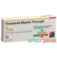 Финастерид Мефа Прокапил 1 мг 98 таблеток покрытых оболочкой