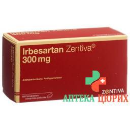 Ирбесартан Зентива 300 мг 98 таблеток покрытых оболочкой