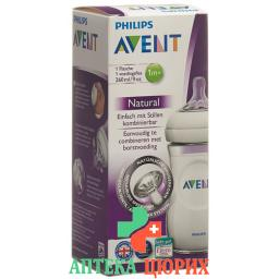 Avent Naturnah-Flasche 260мл Pp