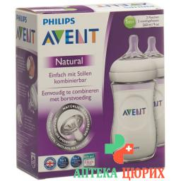 Avent Naturnah-Flasche 2x 260мл Pp Duo