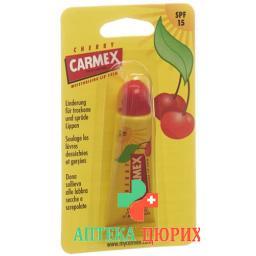 Carmex бальзам для губ Cherry SPF 15 Tube 10г