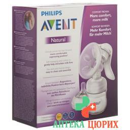 Avent Philips Handmilchpumpe Komfort Natural