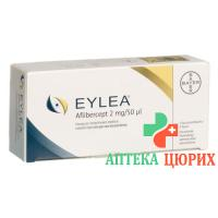 Эйлеа 2 мг/0.05 мл раствор для иньекций