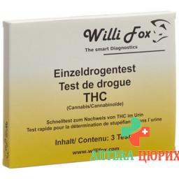 WILLI FOX DROGENTEST THC U
