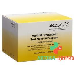 WILLI FOX DROGENTEST MULTI